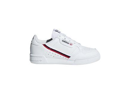 נעלי אדידס קונטיננטל 80 לבנות לנוער - ADIDAS CONTINENTAL 80