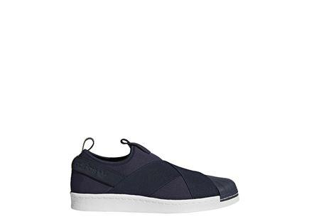 נעלי אדידס סופרסטאר לגברים - ADIDAS SUPERSTAR SLIP ON SHOES