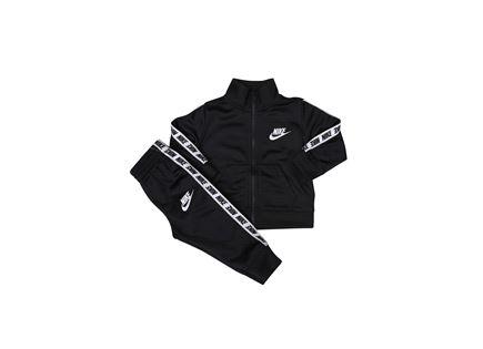 NIKE תינוקות - חליפת לוגו שחורה