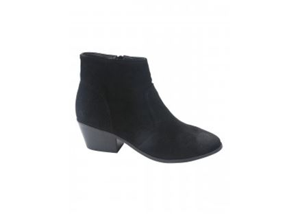 מגפיים CREEK BLACK SUEDE - נשים STEVE MADDEN