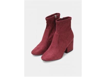 מגפיים IBERIA BURGUNDY - נשים STEVE MADDEN