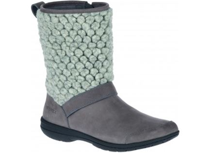 מגפיים מירל אפור אבן לנשים -  MERREL ENCORE KASSIE TALL WOOL