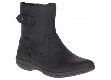 מגפיים מירל שחור לנשים - MERREL ENCORE KASSIE MID WP