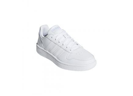 נעלי אדידס לבן לנשים - ADIDAS HOOPS 2.0 SHOES