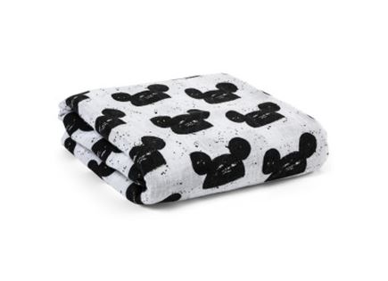 שמיכה לילדים - Modern Burlap Modern Mouse