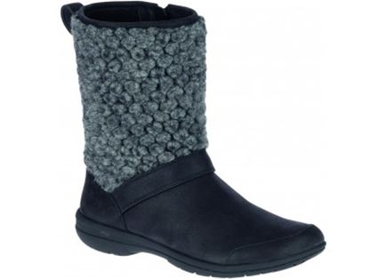 מגפיים מירל שחור לנשים -  MERREL ENCORE KASSIE TALL WOOL