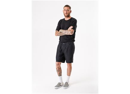 AFENDS גברים // HEMP NATURAL 2.0 SHORTS BLACK