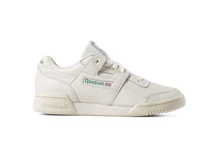 REEBOK נשים // WORKOUT LO PLUS WHITE/GREEN