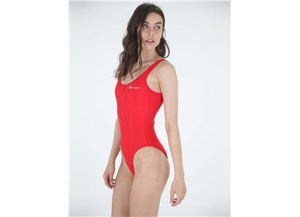בגד ים שלם אדום לנשים