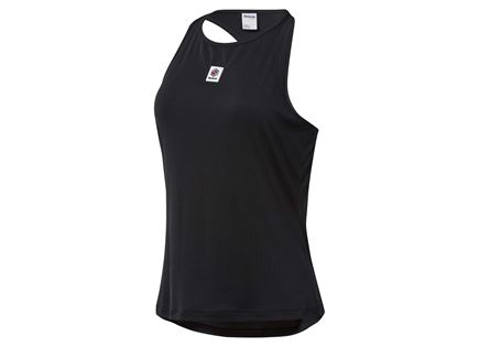 REEBOK נשים // BLACK ADVANCED TANK TOP