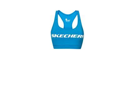 טופ ניאון כחול - נשים SKECHERS