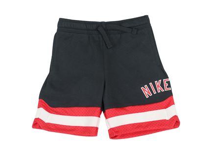מכנס נייקי קצר שחור לילדים - NIKE TERRY SHORT BLACK