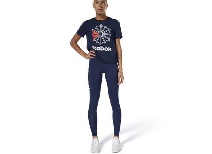 REEBOK נשים // CLASSICS ADVANCED LEGGINGS NAVY