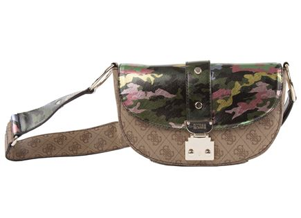 GUESS// FLORENCE SHOULDER BAG CAMOUFLAGE
