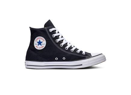 נעלי אולסטאר יוניסקס שחורות גבוהות - All Star