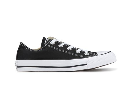 נעלי אולסטר יוניסקס שחורות נמוכות - All Star