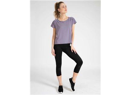 DIADORA נשים // חולצה ספורטיבית אפור