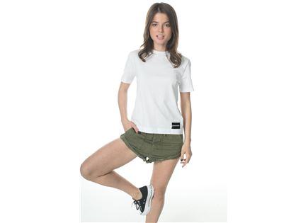 CK נשים // חולצת בייסיק לבנה