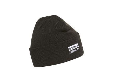 כובע גרב אדידס שחור  - ADIDAS ADICOLOR CUFF BEANIE