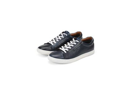 נעלי פפה ג'ינס לגברים - PEPE JEANS PRESTON NAVY