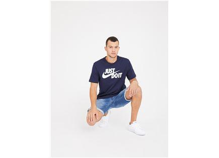 חולצה נייקי לגברים - NIKE T-SHIRT NAVY