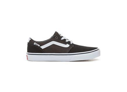 VANS נוער// YT Chapman Stripe BLACK/WHITE