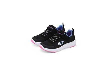 נעלי סקצ'רס שחור לילדות - SKECHERS DYNAMIC TREAD
