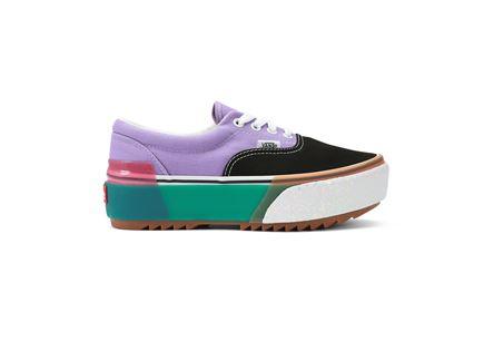 נעלי וואנס בלוק קולור לנשים  - VANS UA ERA STACKED SNEAKERS
