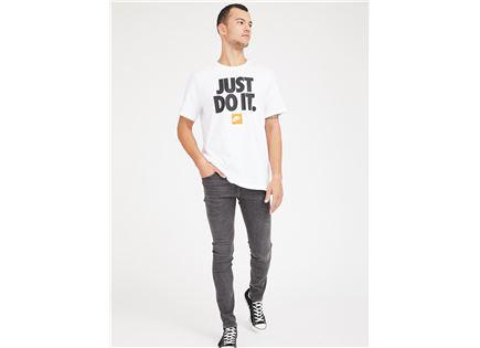 חולצה נייקי לגברים - NIKE T-SHIRT WHITE