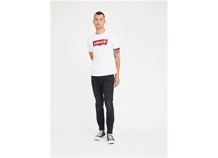 ג'ינס קרעים פפה ג'ינס שחור לגברים - PEPE JEANS FINSBURY