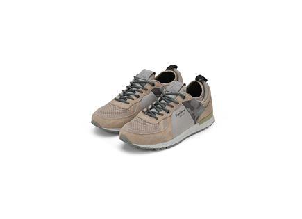 נעלי פפה ג'ינס לגברים - PEPE JEANS TINKER 1973 SAND