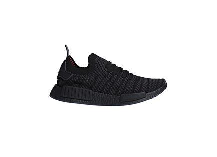 נעלי אדידס סריגה לגברים - ADIDAS NMD_R1 BLACK