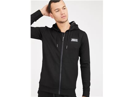 סווטשרט פפה ג'ינס שחור לגברים -  PEPE JEANS BLACK HOODIE
