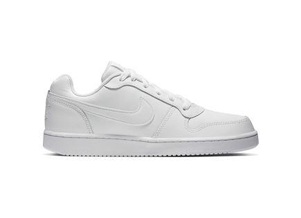 נעלי נייקי לנשים - NIKE EBERNON LOW WHITE