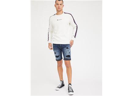 ג'ינס קצר פפה ג'ינס כחול לגברים -  PEPE JEANS JAGGER SHORT DENIM