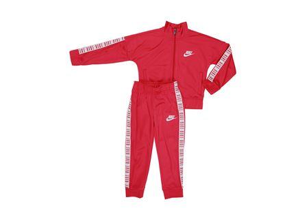 חליפת סט נייקי אדום לילדים - NIKE LOGO TAPING TRICOT SET