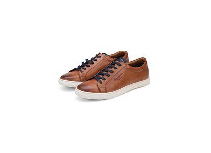 נעלי פפה ג'ינס לגברים - PEPE JEANS PRESTON TOBACCO