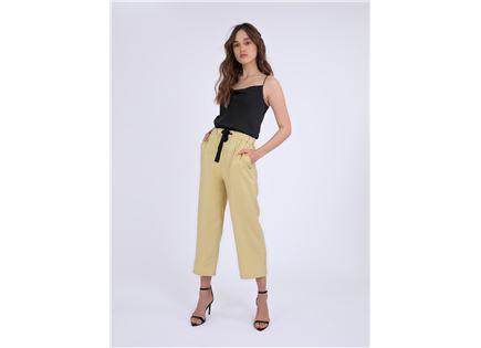 מכנסיים ארוכים דומיניק צהוב סטייל ריבר