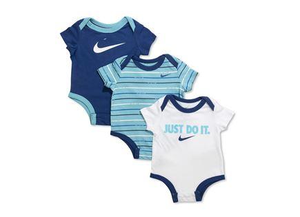 NIKE תינוקות// מארז 3 בגדי גוף