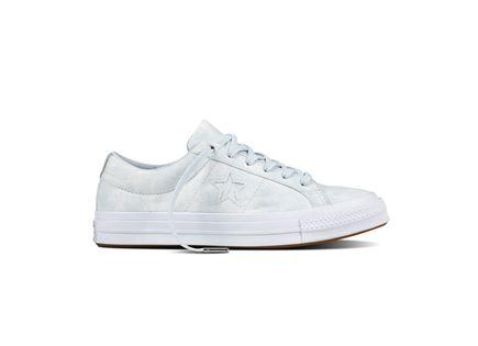 נעלי אולסטאר לנשים זמש פלטינום- AllStar OneStar