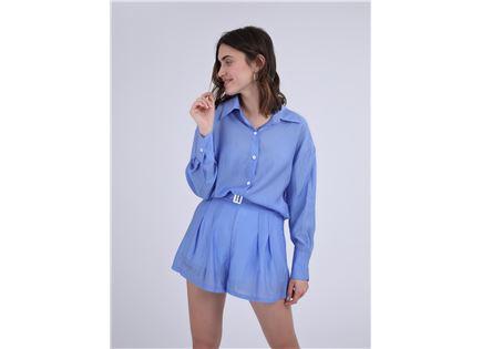 חליפה מכופתרת רובין כחול סטייל ריבר