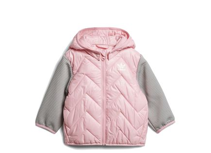 ADIDAS תינוקות// JACKETLIGHT PINK GREY