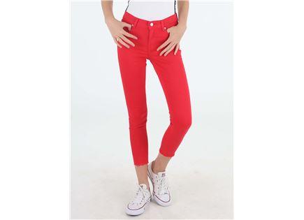 ג'ינס טומי הילפיגר אדום לנשים