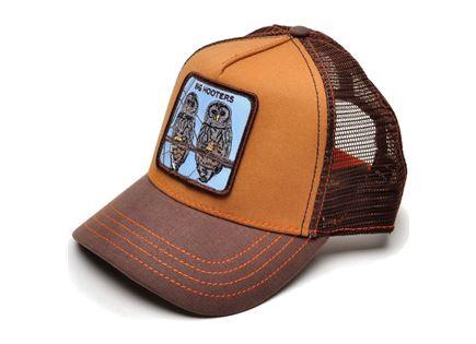כובע מצחייה יוניסקס - Goorin Hooters Brown