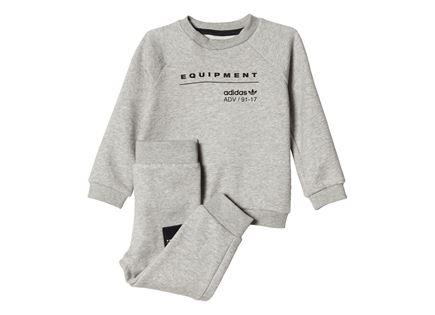 חליפת תינוקות - Adidas EQT Crew Set