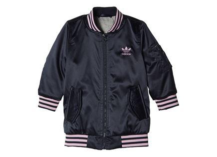 ג׳קט ורוד לתינוקות - Adidas Bomber Jacket