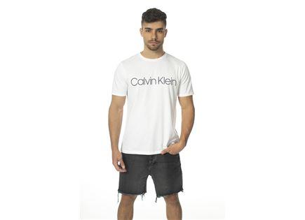 CK גברים // טי - שרט לבנה לוגו