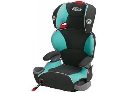 בוסטר כסא בטיחות graco affix  שחור  טורקיז