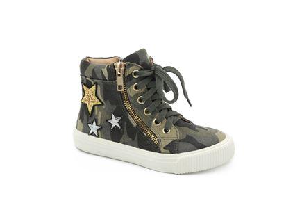 Keds - נעלי סניקרס גבוהות במראה צבאי