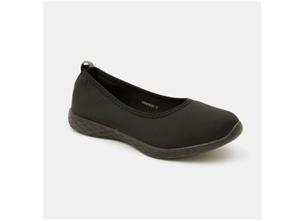 Seventy Nine - נעלי בובה 207 בצבע שחור במבצע